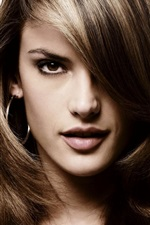 Preview iPhone wallpaper Alessandra Ambrosio 03