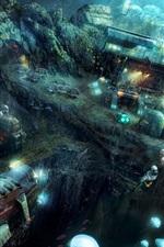 Preview iPhone wallpaper Anno 2070: Deep Ocean