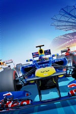 Preview iPhone wallpaper F1 2012