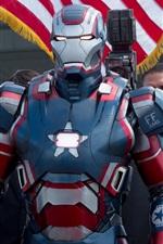 Vorschau des iPhone Hintergrundbilder Iron Man 3