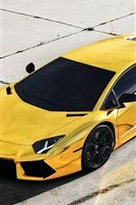 Preview iPhone wallpaper Luxury car, Lamborghini