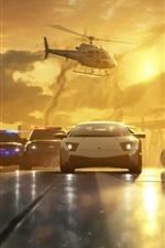 Preview iPhone wallpaper Need for Speed: Most Wanted game wide