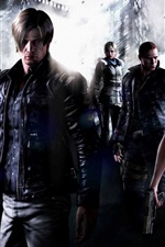 Preview iPhone wallpaper Resident Evil 6 HD
