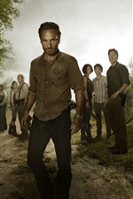 Preview iPhone wallpaper The Walking Dead HD