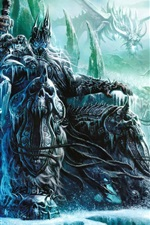 Preview iPhone wallpaper World of Warcraft: Wrath of the Lich King