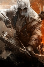 Preview iPhone wallpaper Assassin's Creed 3, archer
