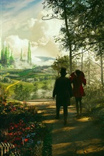 Preview iPhone wallpaper Disney movie, Oz The Great and Powerful