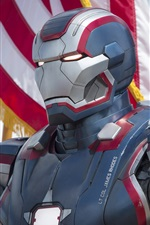 Preview iPhone wallpaper Iron Man 3, new armor