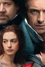 Vorschau des iPhone Hintergrundbilder Les Misérables 2013