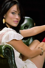 Preview iPhone wallpaper Olivia Wilde 03