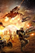Preview iPhone wallpaper Planetside 2 HD