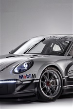 Preview iPhone wallpaper Porsche 911 GT3 Cup 2013