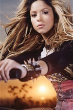 Preview iPhone wallpaper Shakira 04