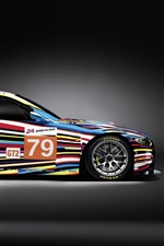Preview iPhone wallpaper Sport car, BMW M3, colorful color