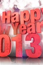 Design 3D, Feliz Ano Novo 2013