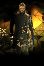 Preview iPhone wallpaper Deus Ex: Human Revolution HD