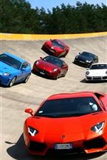 Famous sports car race track race