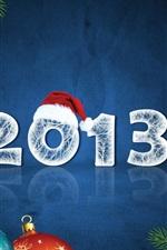 Ano Novo de 2013, de Natal e de Ano Novo decoração