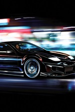Preview iPhone wallpaper Nissan 300zx sport car