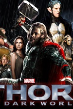 Preview iPhone wallpaper Thor: The Dark World