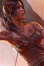 Preview iPhone wallpaper Tomb Raider 2013 HD