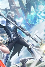 Preview iPhone wallpaper Aion battle