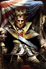 미리보기 iPhone 배경 화면 어쌔신 크리드 III : 왕 워싱턴의 횡포