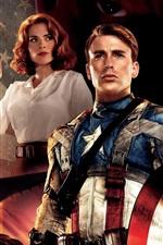 Vorschau des iPhone Hintergrundbilder Captain America HD