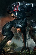 Preview iPhone wallpaper Crysis 3, Machine monster
