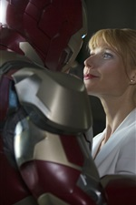 Preview iPhone wallpaper Gwyneth Paltrow in Iron Man 3