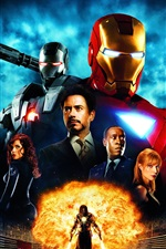 Preview iPhone wallpaper Iron Man hot movie