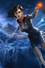 Star Trek Online, menina bonita