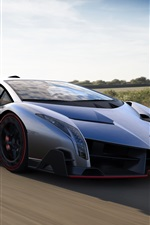 Preview iPhone wallpaper 2013 Lamborghini Veneno luxury supercar