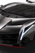 Preview iPhone wallpaper 2013 Lamborghini Veneno, very Cool car