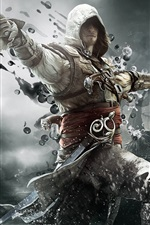 Preview iPhone wallpaper 2013 game, Assassin's Creed 4: Black Flag