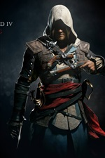 Preview iPhone wallpaper Assassin's Creed 4: Black Flag