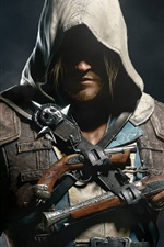 Preview iPhone wallpaper Assassin's Creed IV: Black Flag HD