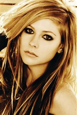 Preview iPhone wallpaper Avril Lavigne 39