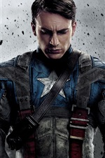 Preview iPhone wallpaper Captain America 2011 movie