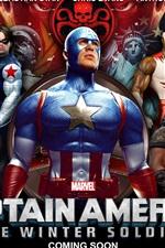 미리보기 iPhone 배경 화면 캡틴 아메리카 : 겨울 병사