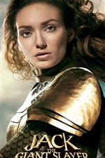 Eleanor Tomlinson em Jack, o assassino gigante