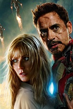 Preview iPhone wallpaper Iron Man 3, Superhero HD