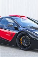 iPhone fondos de pantalla McLaren MP4 Hamann 2012 Lado Negro de coches de lujo