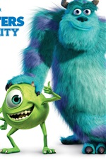 Preview iPhone wallpaper Monsters University 2013 movie