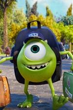 Vorschau des iPhone Hintergrundbilder Monsters University, Disney, Pixar Zeichentrickfilm