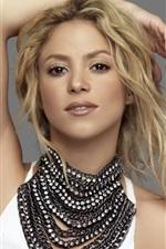 Preview iPhone wallpaper Shakira 05