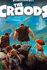 Preview iPhone wallpaper The Croods 2013 HD