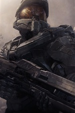 Preview iPhone wallpaper 2013 game, Halo 4