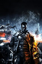 Preview iPhone wallpaper Battlefield 3, Terminator