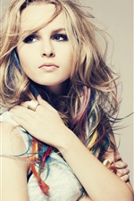 Preview iPhone wallpaper Bridgit Mendler 01